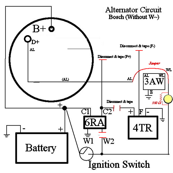 wiring diagram alternator - wiring diagram, Wiring diagram