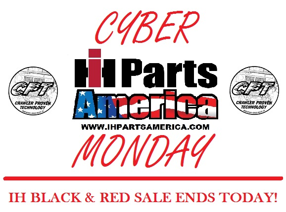 2018 IH Black & Red Sale is On! - IH PARTS AMERICA