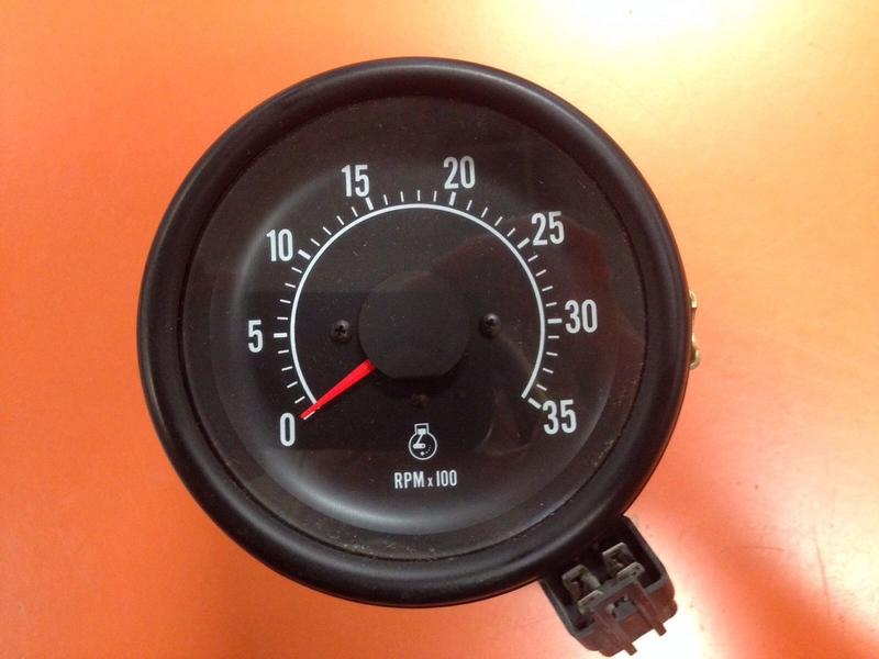Tachometer  Applications And Wiring - General Ih
