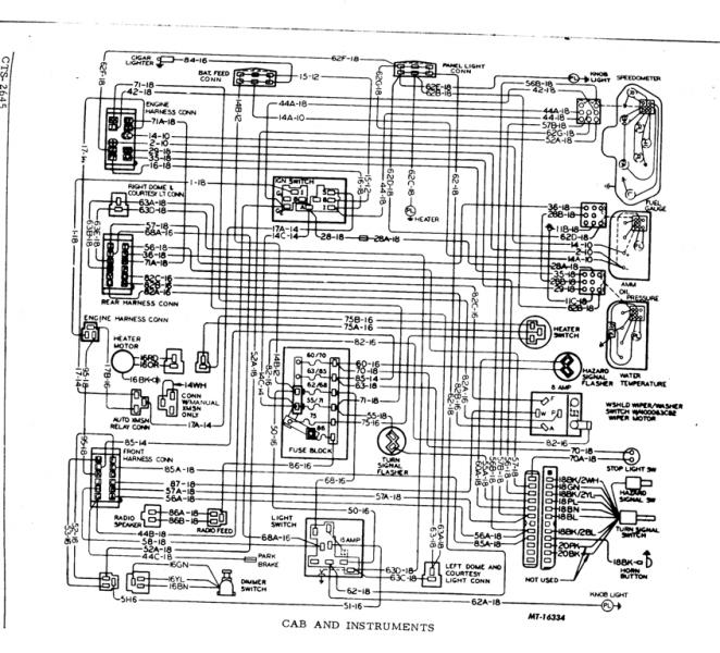 what is this?  ih parts america, wiring diagram